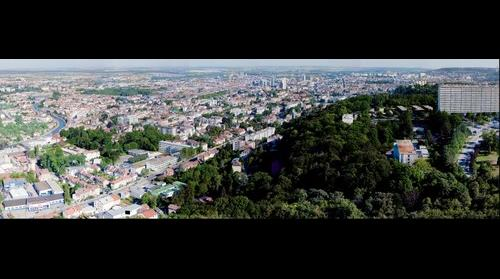 Vue aerienne de Nancy (depuis la tour panoramique) - http://www.jacquier-photo.fr