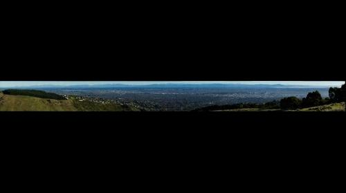 View of Christchurch from Huntsbury #2