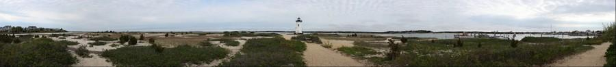 The Edgartown Harbor Light, Martha's Vineyard