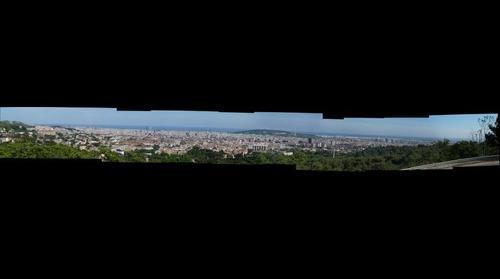 Panorama Barcellona da Tibidabo