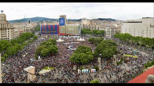 Revoluco Pl. Catalunya