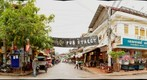 View of Pub Street, Siem Reap, Cambodia