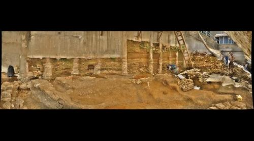 Beirut Archaeological Excavation - A 2000-Year Cross-Section