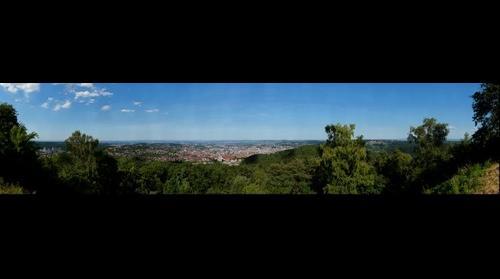 Stuttgart from Birkenkopf