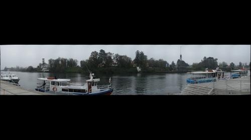 Río Valdivia desde Muelle Schuster