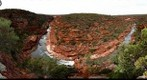 Murchison River at Kalbarri Gorges