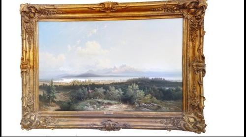 Painting - Blick auf Friedrichshafen