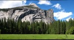 Yosemite&#39;s Half Dome, North Dome, and Arches