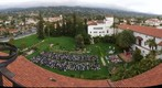 110604 Santa Barbara Bishop Garcia Diego High School graduation at the courthouse