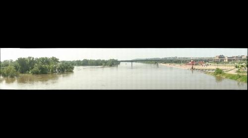 Missouri River at Omaha Over Flood Stage