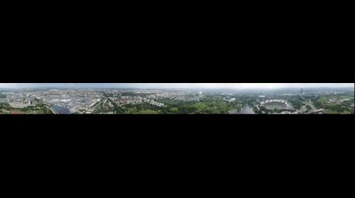 Munich's Olympia Park 360 degree view