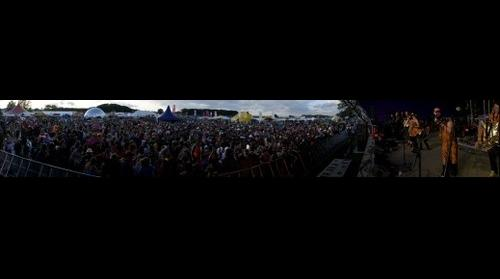 View from the Stage at Shambala 2010