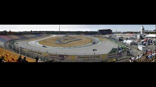 Hockenheimring Motodrom Sachskurve