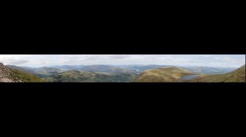 Ben Nevis panorama