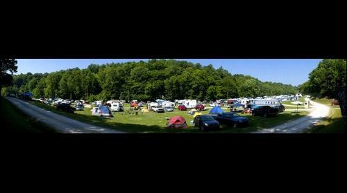 Appalachain Uprising Bluegrass Music Festival Camping Area
