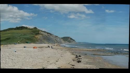Golden Cap from Charmouth