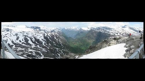 Dalsnibba Ausblick auf den Geiranger Fjord