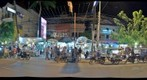 View of entrance to Siem Reap Night Market