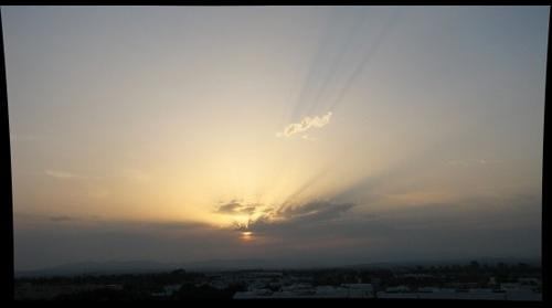Sunset, Tunis, 2009