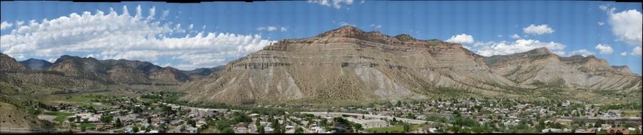Book Cliffs Geology Book Cliffs at Helper Utah