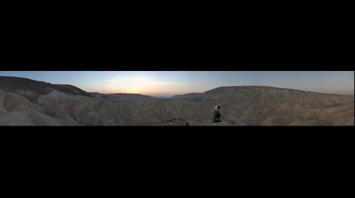 Sde Boker Desert at Sunrise