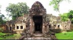 Preah Khan ruined temple Cambodia