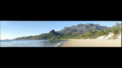 Nina Peak from Ramsay Bay.  Hinchinbrook Island, Queensland, Australia