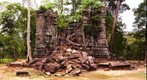 Ruined temple near Koh Kher, Cambodia.