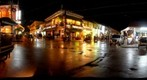 9th Street, Siem Reap, Cambodia, at night