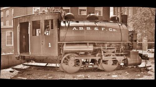 A. B. S. & F. Co. Train