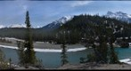 Whirlpool Point, North Saskatchewan River 360 panorama