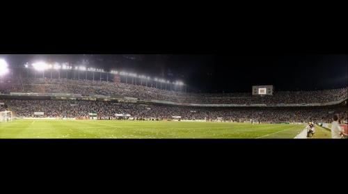 Partido de fútbol Elche-Granada 18/06/2011, segunda panorámica