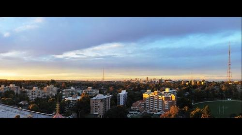 View from Chatswood, NSW, AU