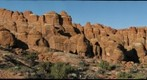Arches NP, Fiery Furnace at sunset