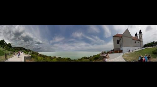 Panoramic view from Tihany, Hungary