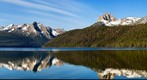 Redfish Lake Panorama Take-Two