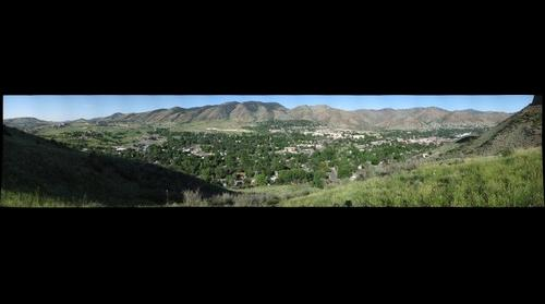 City of Golden from South Mesa