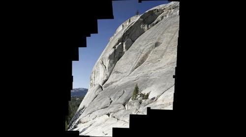 Crescent Arch, Daff Dome, Yosemite