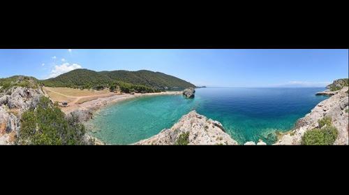 milokopi bay panorama