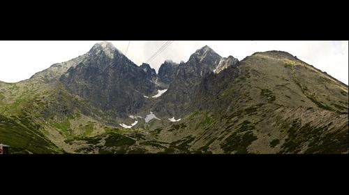 Lomnicky a Huncovsky stit (hills)