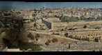 Detailed view of Jerusalem from Mt Olives