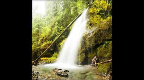 Lower Parker Falls, Oregon