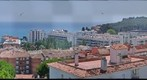 Lloret de Mar Spain sea side view