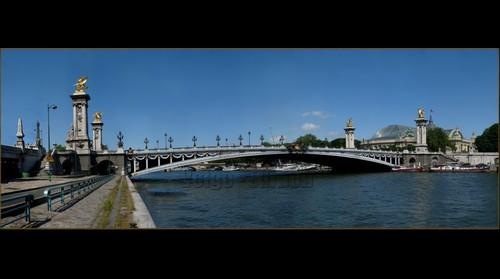 E/ Paris Pont Alexandre lll from Dvd-Rom 9 giga