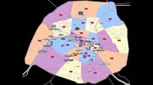 1/ Paris PLan Photos Ultra HD