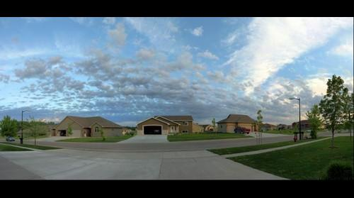 Front view from the house in Brookings, SD
