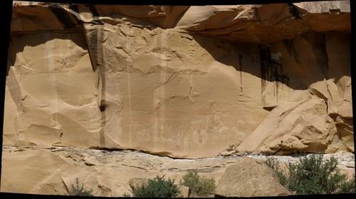 Rock Art in Sego Canyon, Utah