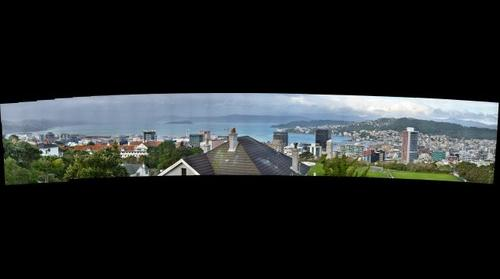 Wellington, NZ Skyline