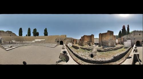 Theater in Pompeii