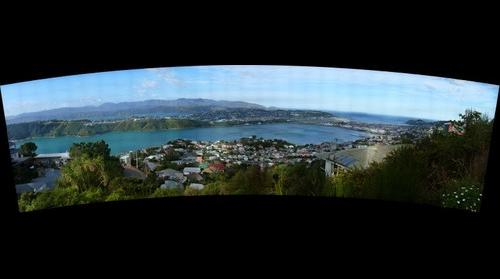 Evans Bay Viewed from Mount Victoria